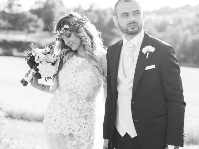 Le nozze di Giorgia e Antonello