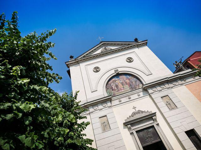 Il matrimonio di Matteo e Eleonora a Vignate, Milano 31