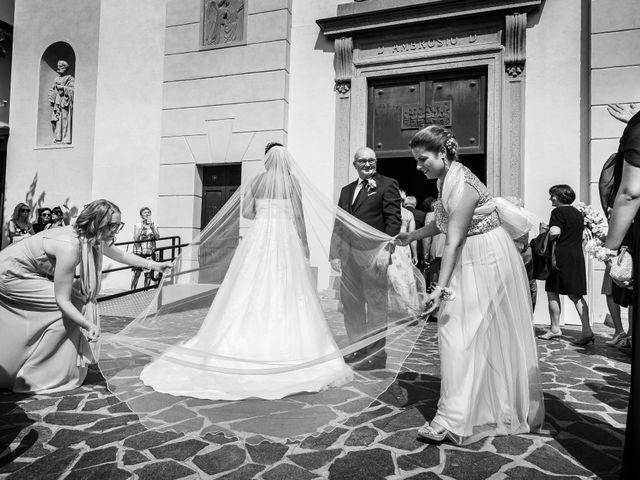 Il matrimonio di Matteo e Eleonora a Vignate, Milano 47