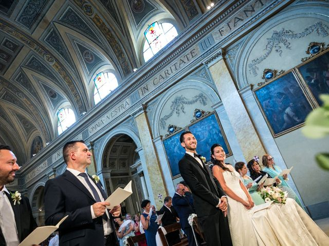 Il matrimonio di Matteo e Eleonora a Vignate, Milano 51