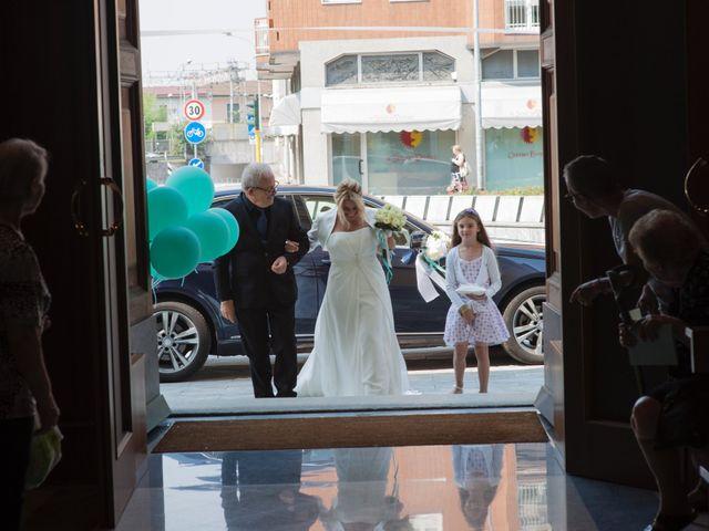 Il matrimonio di Filippo e Pamela a Vanzago, Milano 8