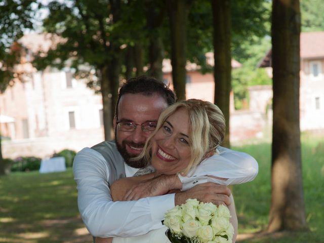 Il matrimonio di Filippo e Pamela a Vanzago, Milano 34