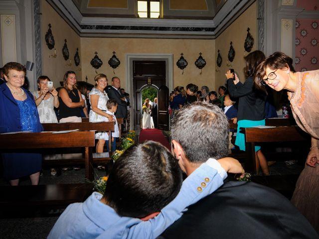Il matrimonio di Andrea e Valeria a Fortunago, Pavia 13