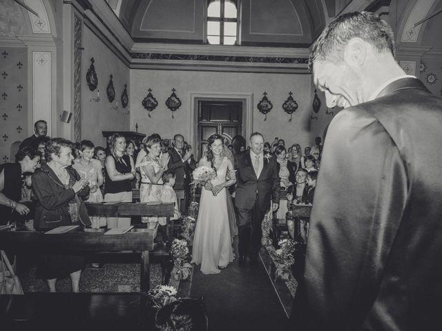 Il matrimonio di Andrea e Valeria a Fortunago, Pavia 14