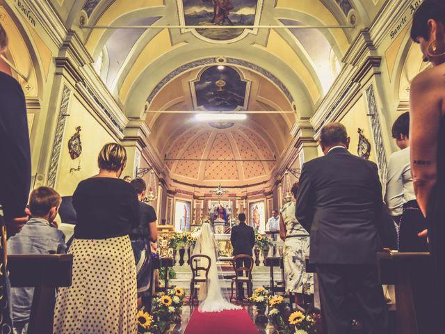 Il matrimonio di Andrea e Valeria a Fortunago, Pavia 15