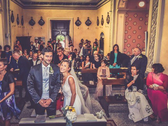 Il matrimonio di Andrea e Valeria a Fortunago, Pavia 17