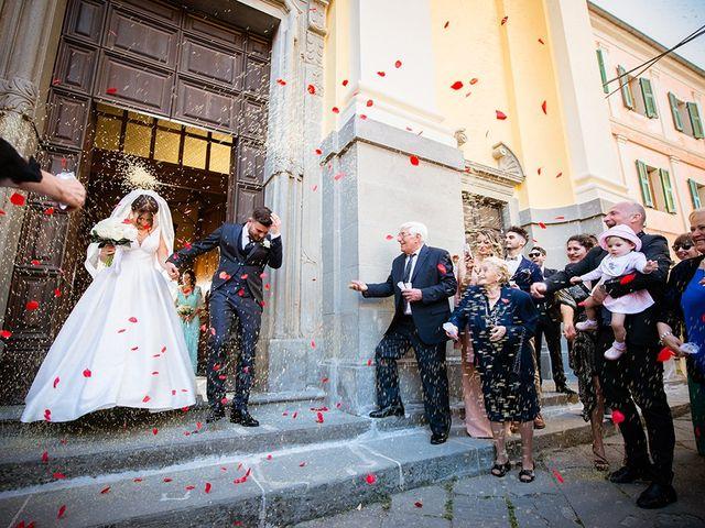 Il matrimonio di Simone e Giorgia a Bagnone, Massa Carrara 36