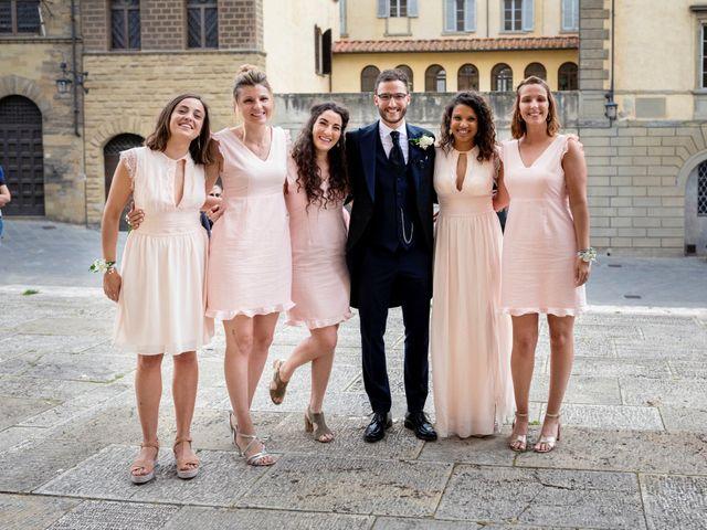 Il matrimonio di Riccardo e Audrey a Monte San Savino, Arezzo 21