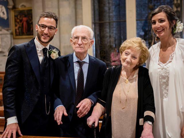Il matrimonio di Riccardo e Audrey a Monte San Savino, Arezzo 42