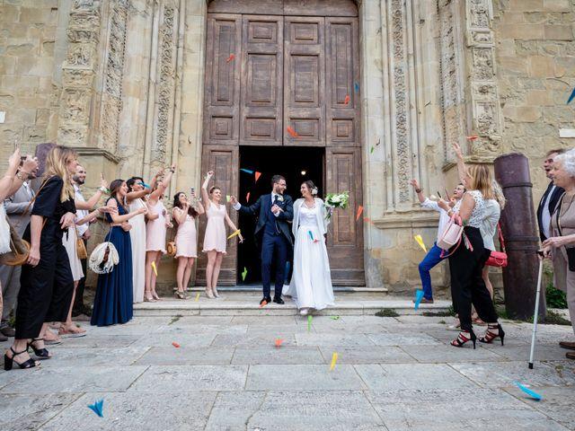 Il matrimonio di Riccardo e Audrey a Monte San Savino, Arezzo 44