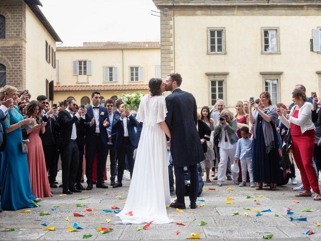 Il matrimonio di Riccardo e Audrey a Monte San Savino, Arezzo 45