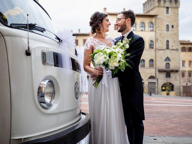 Il matrimonio di Riccardo e Audrey a Monte San Savino, Arezzo 47