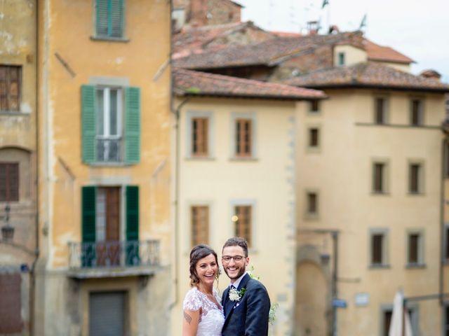 Il matrimonio di Riccardo e Audrey a Monte San Savino, Arezzo 49