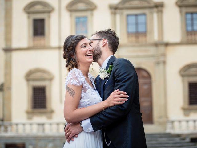 Il matrimonio di Riccardo e Audrey a Monte San Savino, Arezzo 51