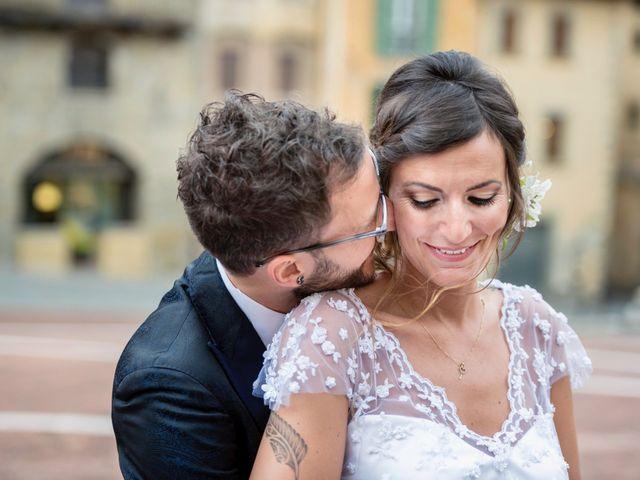 Il matrimonio di Riccardo e Audrey a Monte San Savino, Arezzo 52