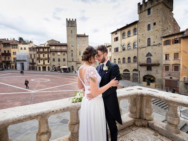 Il matrimonio di Riccardo e Audrey a Monte San Savino, Arezzo 56