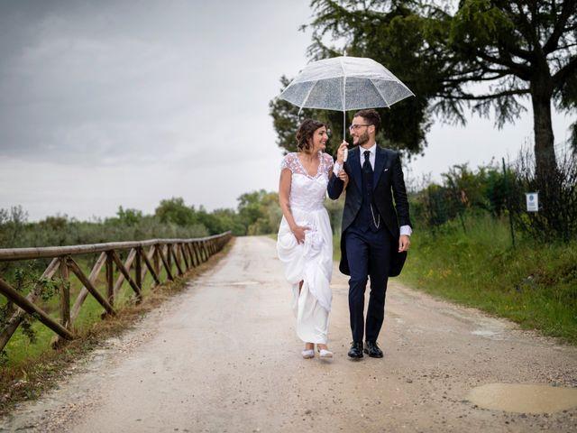 Il matrimonio di Riccardo e Audrey a Monte San Savino, Arezzo 57