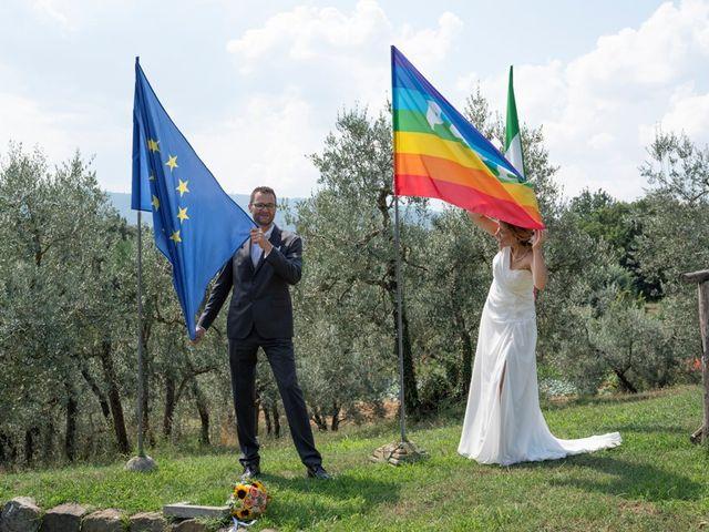 Il matrimonio di Mario e Elisa a Firenze, Firenze 56