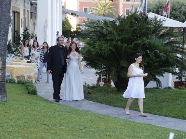 Il matrimonio di Tal e Federico a Santa Margherita Ligure, Genova 9