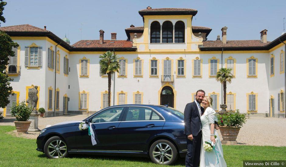 Il matrimonio di Filippo e Pamela a Vanzago, Milano