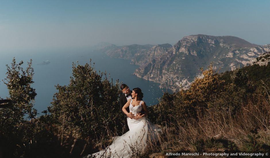 Il matrimonio di Maurizio e Susy a Maiori, Salerno