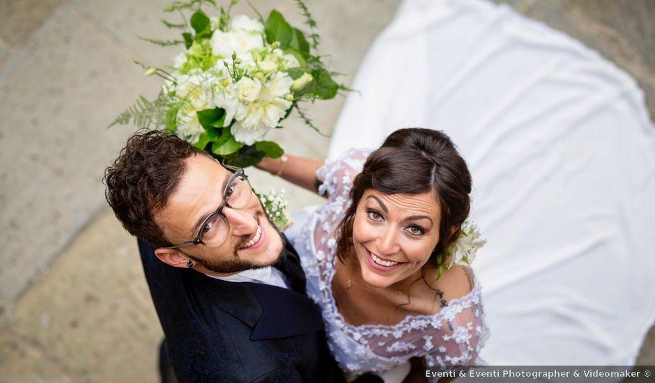 Il matrimonio di Riccardo e Audrey a Monte San Savino, Arezzo