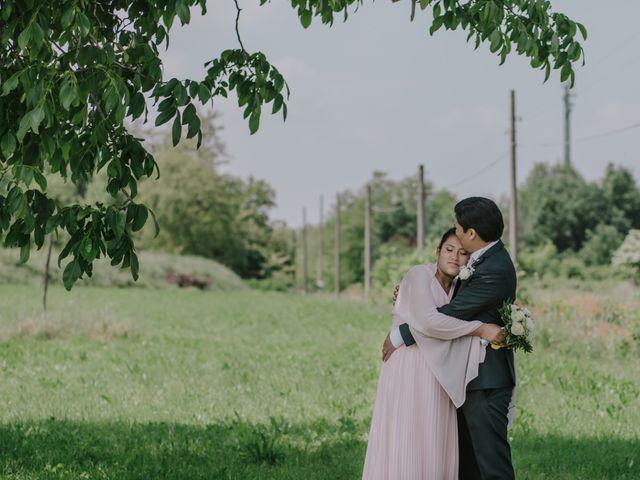 le nozze di Evelyn e Moises