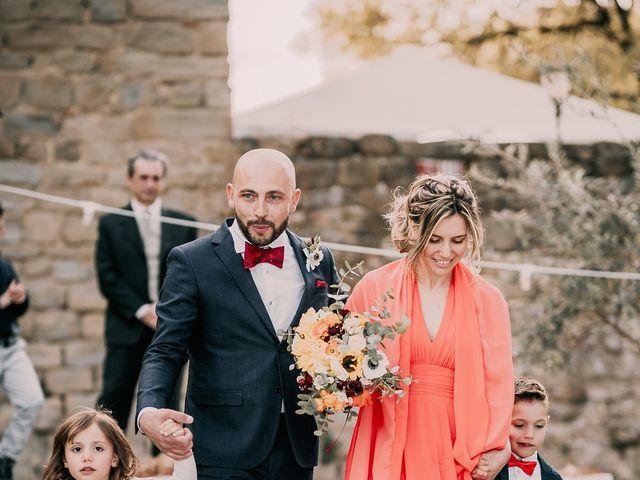 Il matrimonio di Federico e Irene a Torgiano, Perugia 35