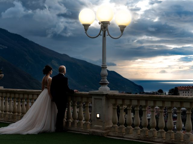 Il matrimonio di Giovanna e Andrea a Lettere, Napoli 1