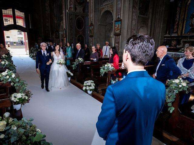Il matrimonio di Riccardo e Giulia a Cavaglio d'Agogna, Novara 19