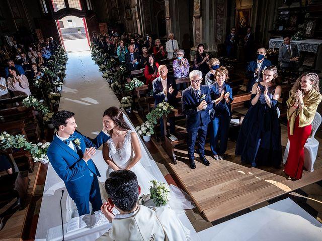 Il matrimonio di Riccardo e Giulia a Cavaglio d'Agogna, Novara 21
