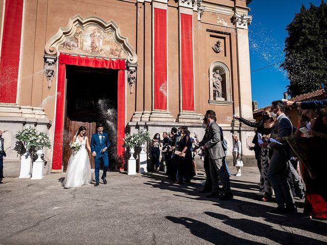 Il matrimonio di Riccardo e Giulia a Cavaglio d'Agogna, Novara 25