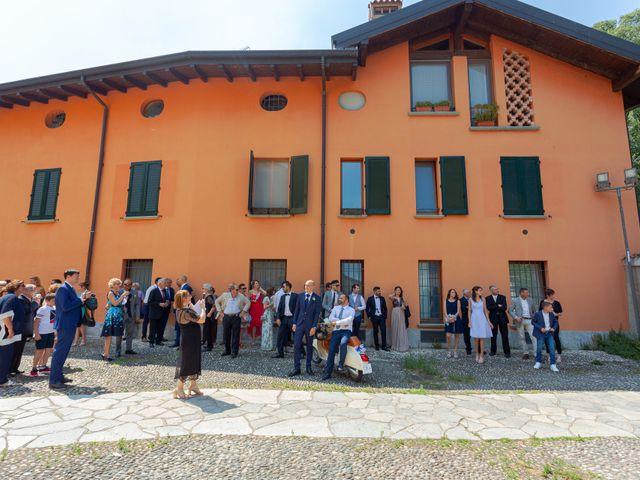Il matrimonio di Fabio e Veronica a Cernusco sul Naviglio, Milano 41
