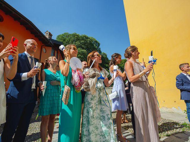 Il matrimonio di Fabio e Veronica a Cernusco sul Naviglio, Milano 63