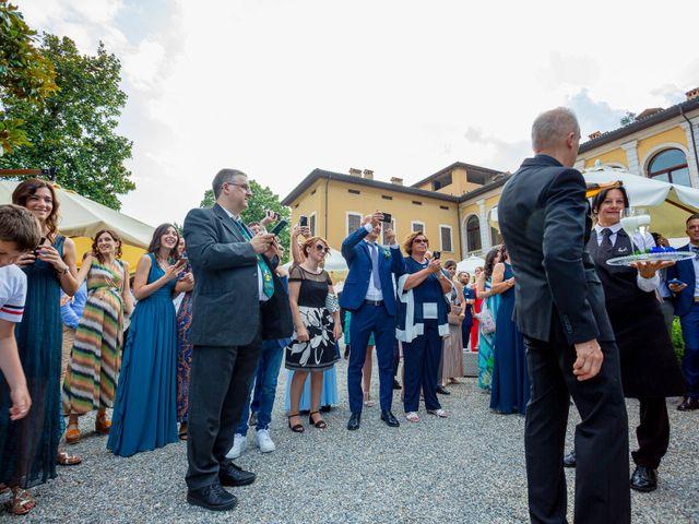 Il matrimonio di Fabio e Veronica a Cernusco sul Naviglio, Milano 78