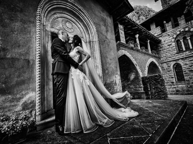 Il matrimonio di Fabio e Veronica a Cernusco sul Naviglio, Milano 91