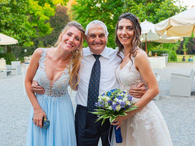 Il matrimonio di Fabio e Veronica a Cernusco sul Naviglio, Milano 105