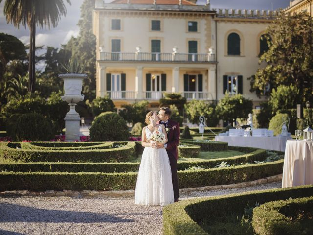 Il matrimonio di Alessandro e Martina a Lerici, La Spezia 46