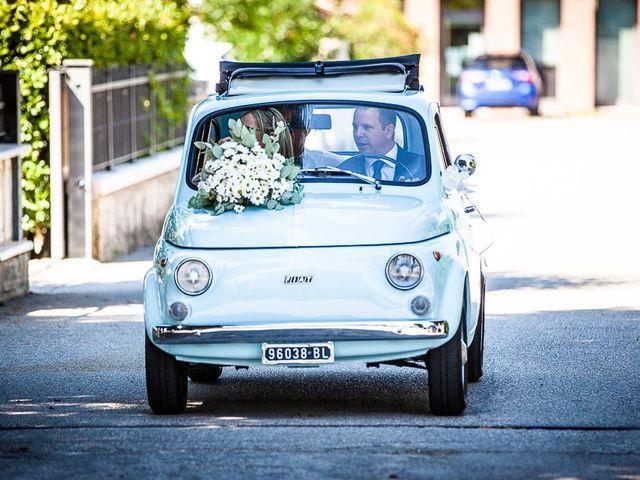 Il matrimonio di Andrea e Martina a Maser, Treviso 25