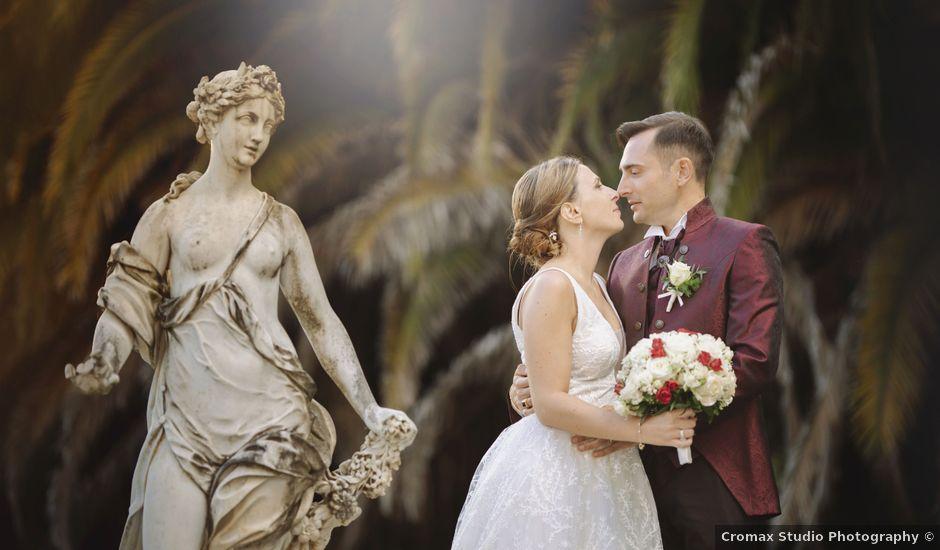 Il matrimonio di Alessandro e Martina a Lerici, La Spezia