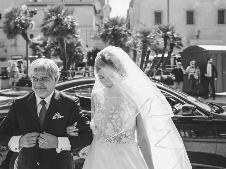 le nozze di Antonella e Rosario