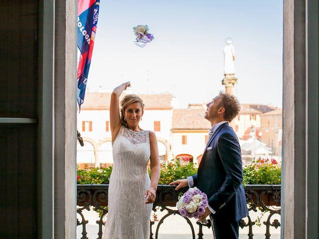 Il matrimonio di Alan e Lara a Castel San Pietro Terme, Bologna 15