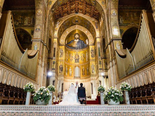 Il matrimonio di Rosario e Antonella a Monreale, Palermo 50