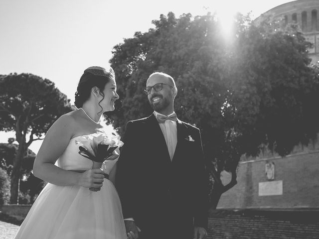 Il matrimonio di Dario e Maura a Roma, Roma 34