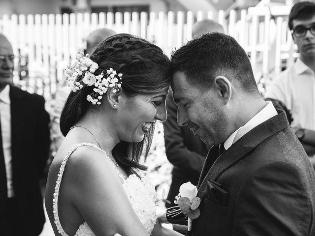 le nozze di Sofia e Cristian