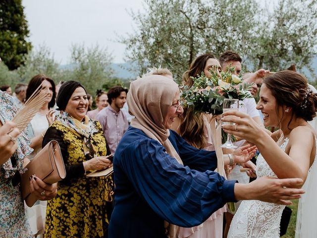 Il matrimonio di Barry e Emira a Barga, Lucca 48