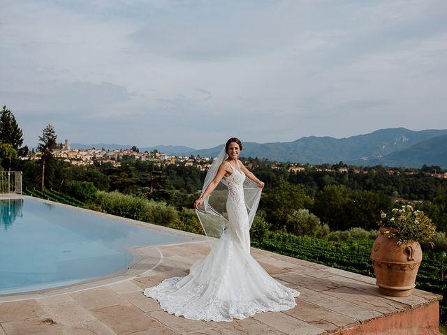 Il matrimonio di Barry e Emira a Barga, Lucca 1