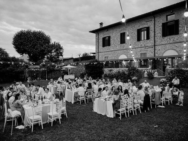 Il matrimonio di Barry e Emira a Barga, Lucca 74