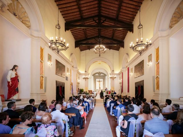 Il matrimonio di Gabriele e Laura a Impruneta, Firenze 34