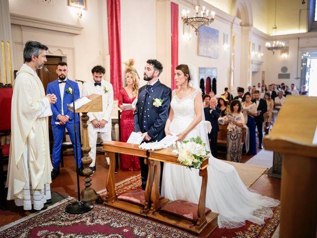 Il matrimonio di Gabriele e Laura a Impruneta, Firenze 42